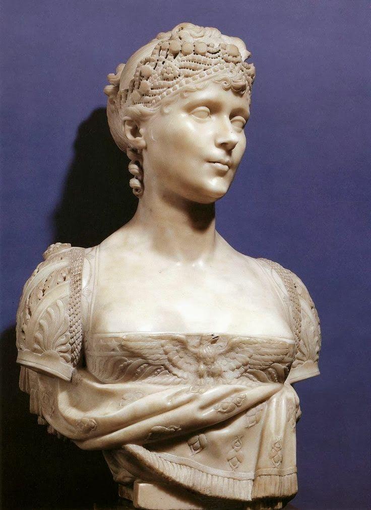 HOME & GARDEN: 20 idées de bustes décoratifs - Bust of Empress Josephine by Joseph Chinard, 1805
