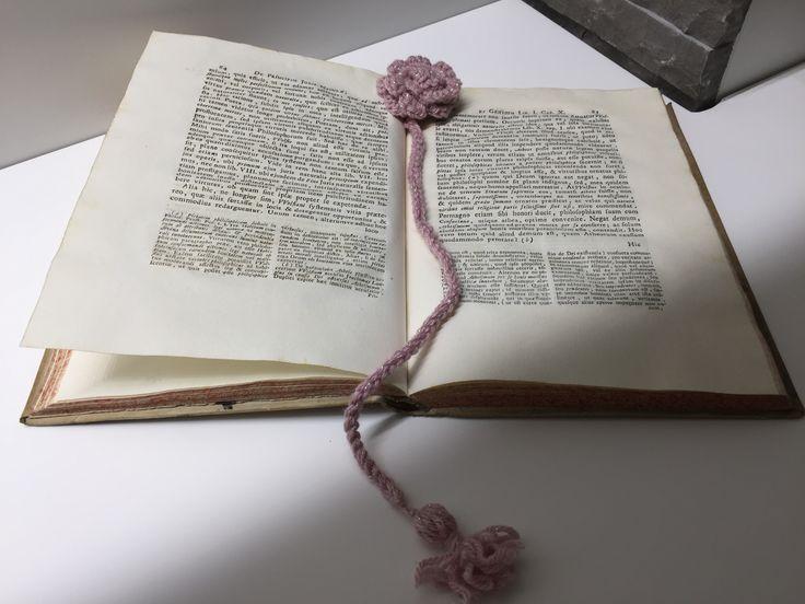 DIY crochet bookmarker 📚🖇