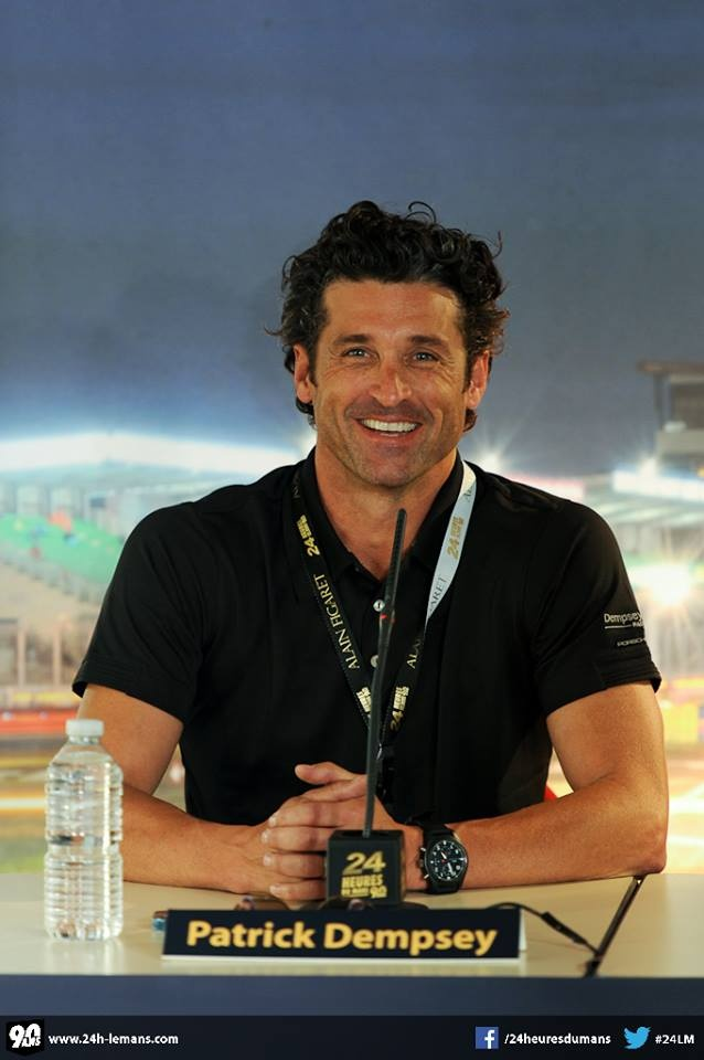 Patrick Dempsey he will always and forever be the nerd in can't by me love!!!!