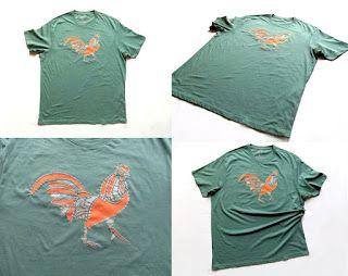 OrloSubito it: maglietta gallo verde