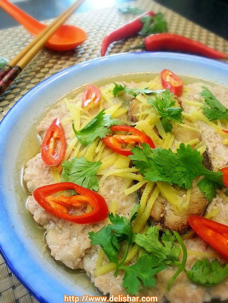 Delishar steamed pork with salted fish for Chinese salted fish