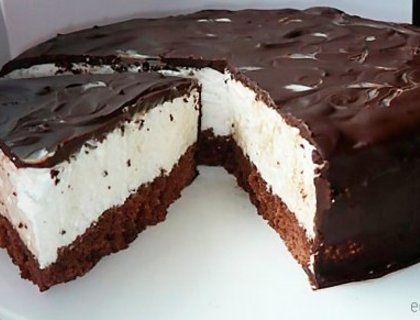 """Быстрый торт – """"Птичье молоко"""""""