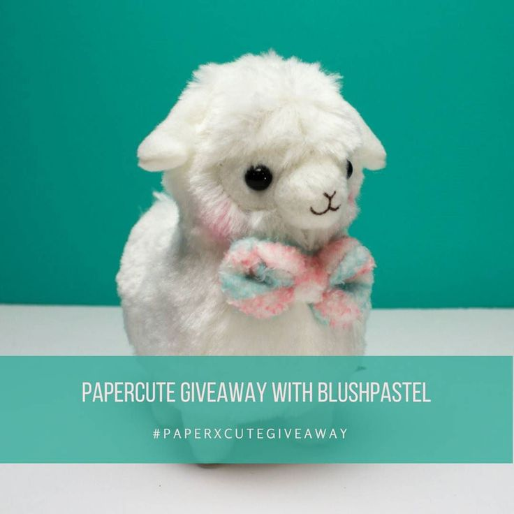 It's giveaway time! We are teaming up with @blushpastel to give away Milk-Chan from the Kids Alpacasso line. . . To win this adorable plush:  1) Follow us @paperxcute and @blushpastel.  2) Repost the picture and include hashtag #paperxcutegiveaway  3) Your account must be public. 4) Deadline is April 2 9pm CST. 5) Winners will be selected from a random number generator. The winner will be announced within 7 days of the deadline. If we do not hear back from the winner within 7 days after…