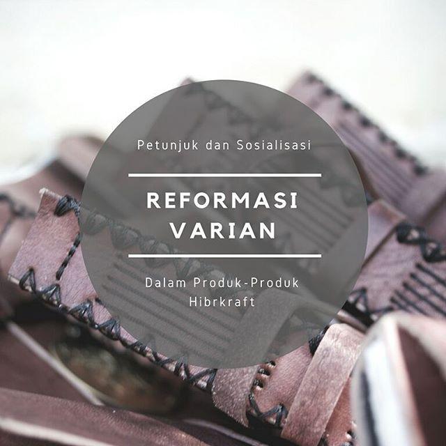 """Kami akan melakukan reformasi varian dalam produk kami. Penasaran? Cek postingan berikutnya ;) . . Add @hibrkraft (please use """"@"""") di LINE kamu atau chat langsung untuk pemesanan order pricelist dan katalog! Selain itu kami juga akan post info dan trivia menarik seputar dunia penulisan journalling sketch dan lainnya :) . Cek @kataloghibrkraft untuk mengetahui varian produk kami dan @myhibrkraft untuk melihat testimoni.. #journal #productphotography #handicraft #leather #bukuunik #travelnote…"""