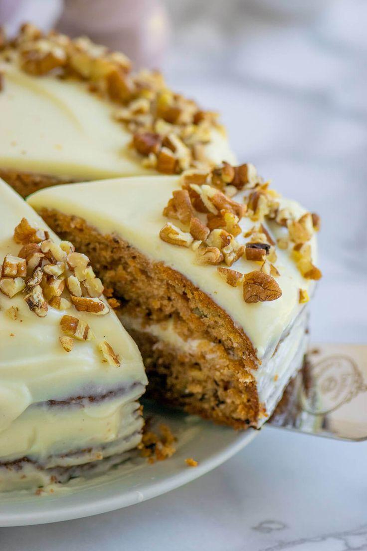 Así que horneas el pastel de zanahoria perfecto con queso crema como el de Starbucks   – Cake and Cookies & Cafe