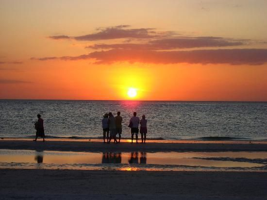 Sunset Clearwater Beach, Floride