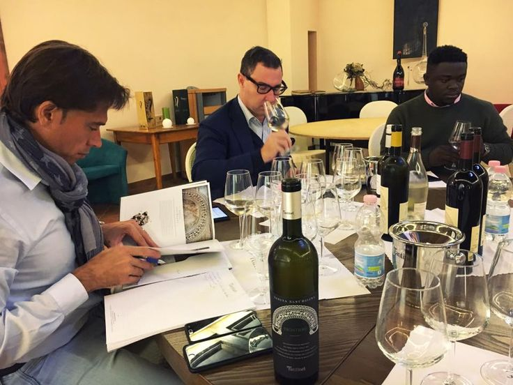 Full #training today at #Fantinel with our #friends from #Ghana! #ImexcoGhana #winery #tasting #winelover #italian #wines #Friuli
