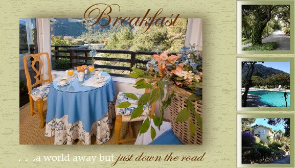 Carmel Bed and Breakfast   Carmel Valley Bed and Breakfast - Big Sur Bed and Breakfast