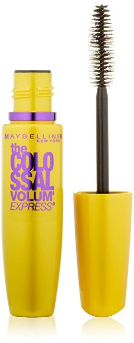Maybelline New York The Colossal Volume' Express Washable Mascara, Glam Brown 232