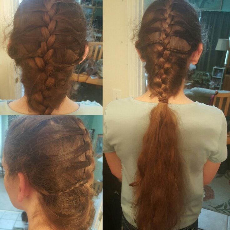 how to finish a braid