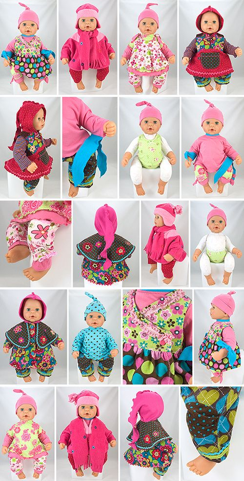 Every Day doll sewing patterns for baby dolls 48cm