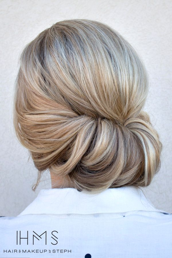 Could this be done into a side French twist so the right side hangs?