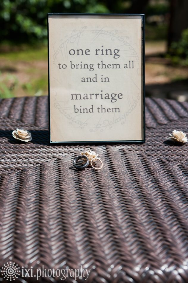118 best LOTR Wedding images on Pinterest Lord of the rings Rings