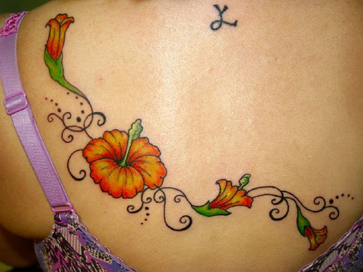 Hawaiian Flower Meaning Family Hibiscus flower tattoos