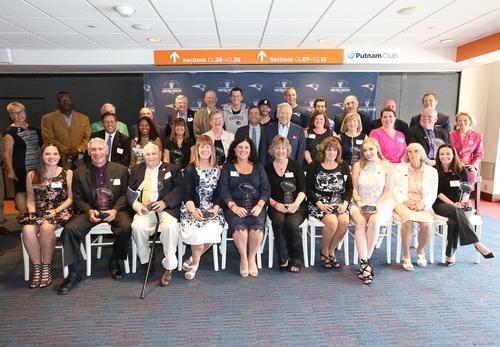 Robert Kraft and the New England Patriots donate $200,000 in the names of 2017 Myra Kraft Community MVP Awards