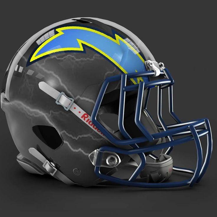 San Diego Chargers Helmet Decals: 613 Best Custom Helmets Images On Pinterest