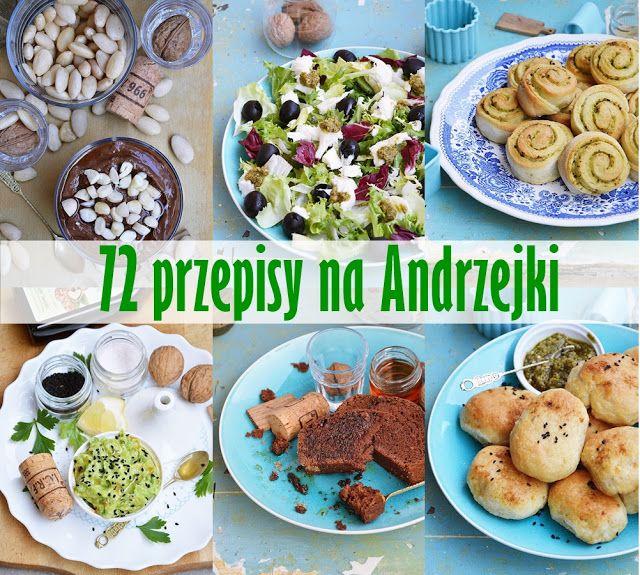 moja smaczna kuchnia: 72 przepisy na Andrzejki