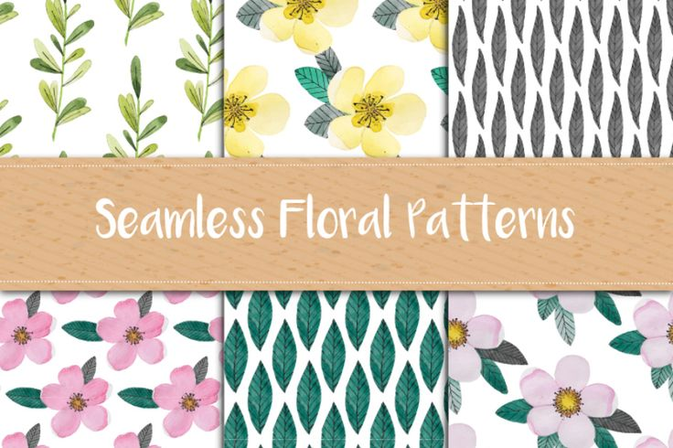 Today we have for you a nice set of Watercolor Floral Patterns from Irina Kulkova! The pack contains 10 high quality patterns available in AI (Adobe Illustrator) format. It comes all colorful so you can use for many different design purposes such as background images, pattern for packaging, branding, invitation, business card, and more.