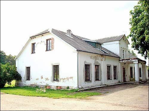 Dwór Jeleńskich., Anowile . LItwa