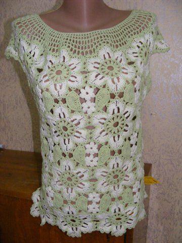 Flor modelado malha blusas de verão, blusa de renda com modelos novos: Sweaters, Malha Blusas, Blouse