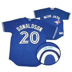 Donaldson,J Signed Jersey Blue Jays Replica Blue