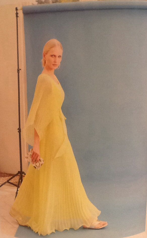 1970s dress featured in the Irish Tatler June 2014