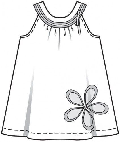 PATRÓN-PEDIA: Vestido niña