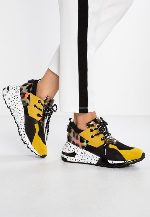 1281c04bdfa Steve Madden CLIFF - Sneaker low - yellow multicolor - Zalando.de
