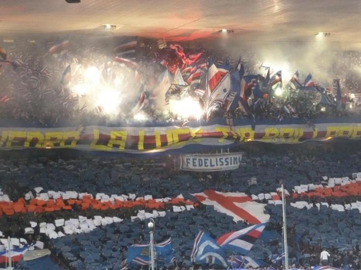 Helge @ Sampdoria-Genoa