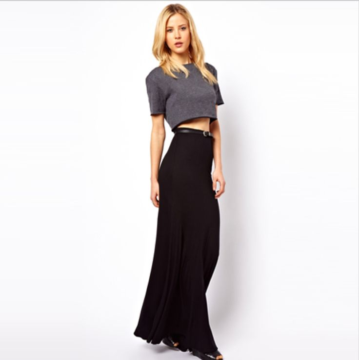 #long #pencil #skirt