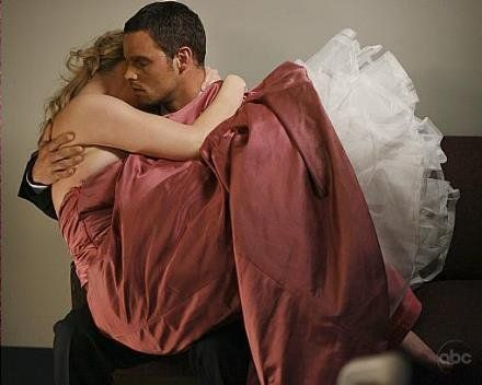 Just beautiful!  I love this scene!  Izzie and Alex will always be the best TV couple!