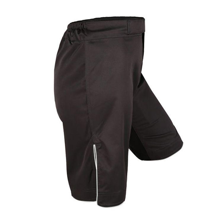Black Men Breathable Fitness Combat mma Shorts Muay Thai