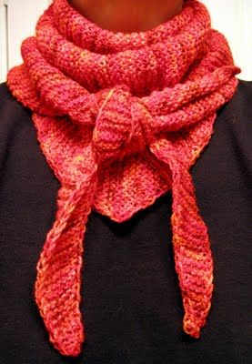 Knitted Scarf Patterns Using Sock Yarn : 17 Best images about knit scarves on Pinterest Free ...