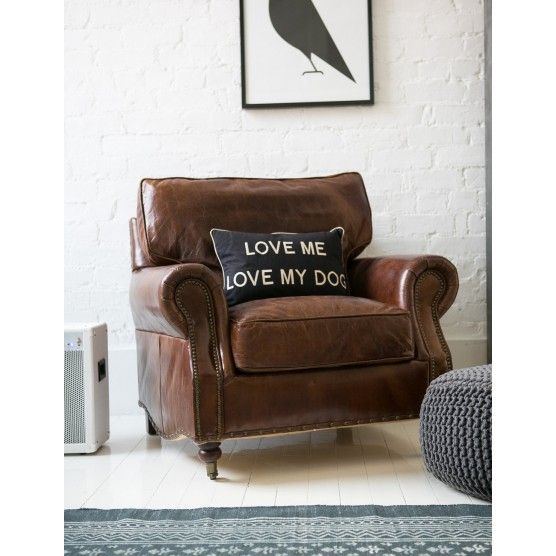 Vintage Leather Armchair Vintage Leather Armchairs And