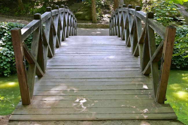 Build A Footbridge This Is A Simple One Day Project That