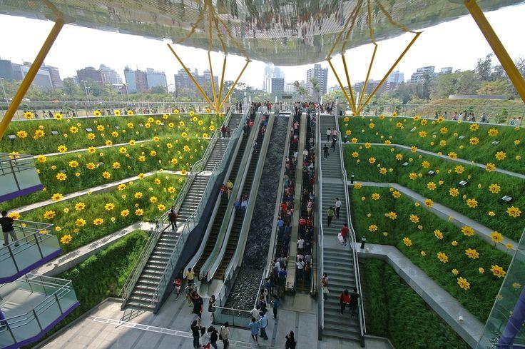 Central Park Station ( 中央公園站 ), Sinsing District ( 新興區 ), Kaohsiung ( 高雄 ), Taiwan ( 中華民國 )