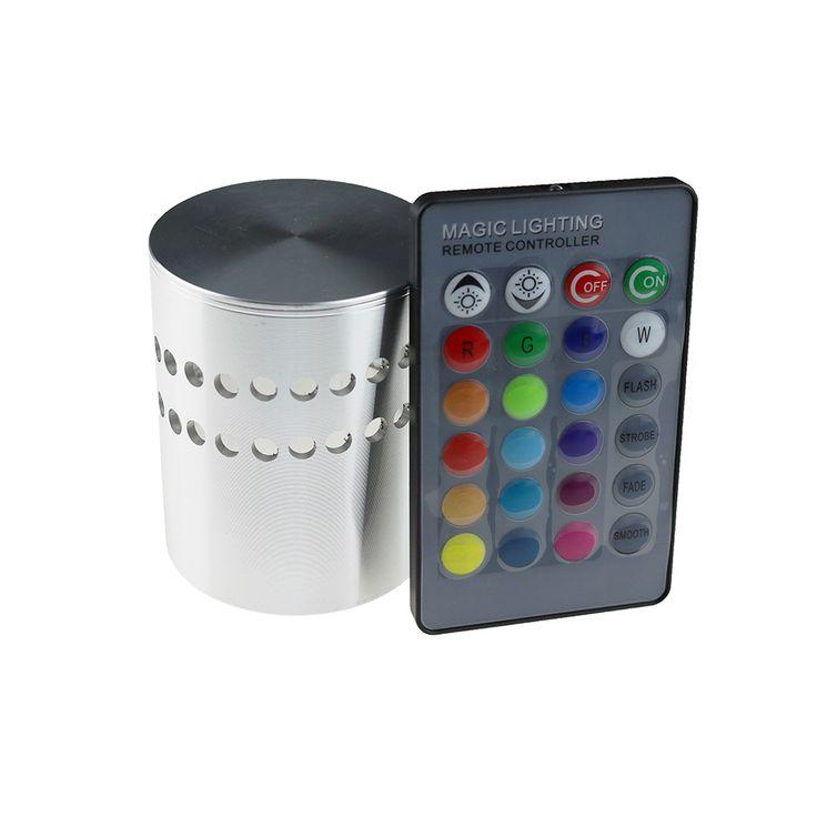 1 шт. RGB Светодиодные Светильники Настенные светильники 3 Вт 85 265 В 110 В/220…