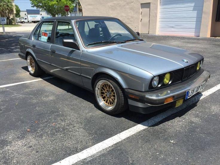 cool BMW: 3-Series E 1986 bmw 325 e base sedan 4 door 2.7 l 5 spd no reserve
