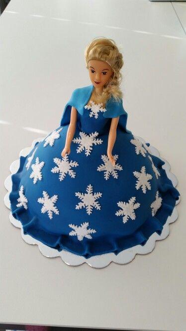 Elsa kake #frozen