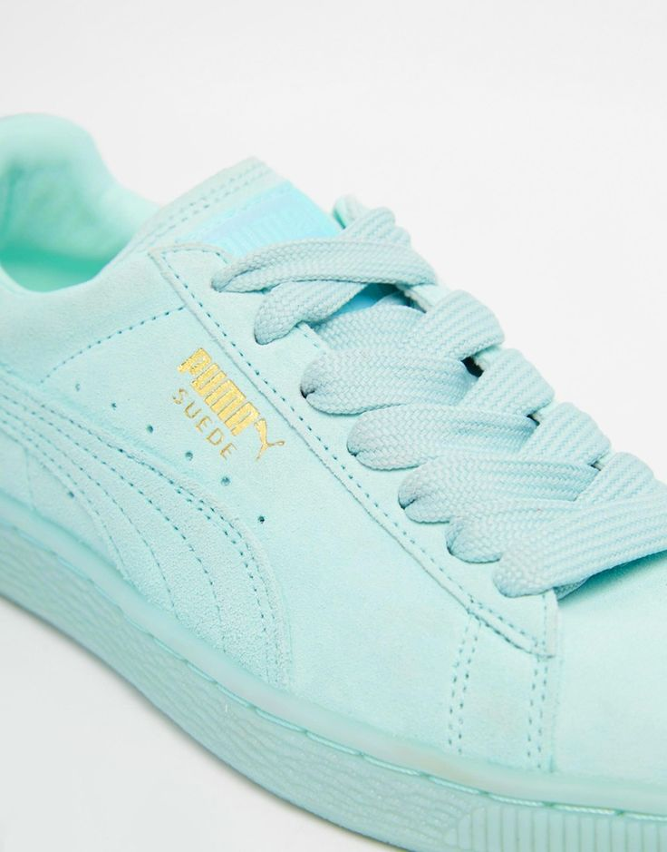 Mint Green Trainers http://www.95gallery.com/