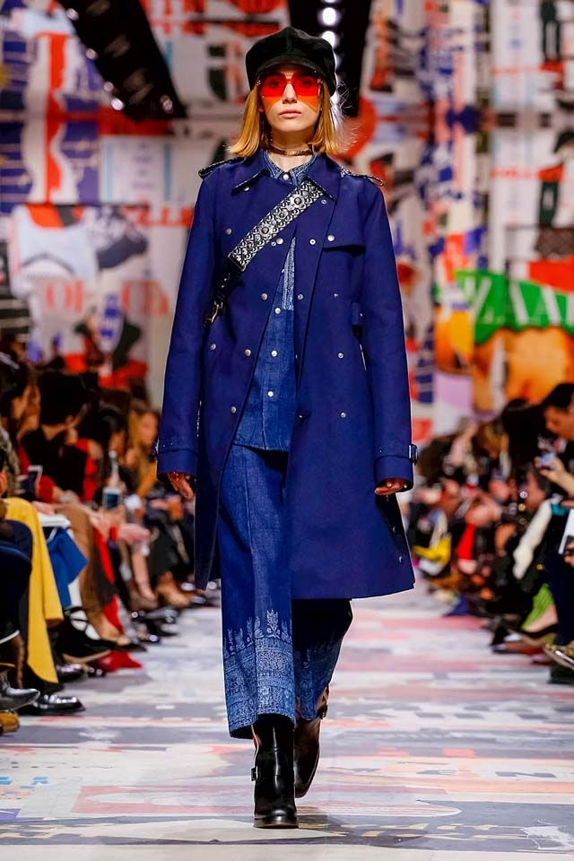 862d9ed7853 Dior-fall-winter-2018-19-fw18-rtw-dresses-collection-37-denim-outfit