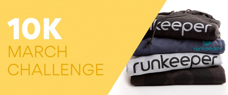 Runkeeper March 10K Challenge — 2017 - Runkeeper