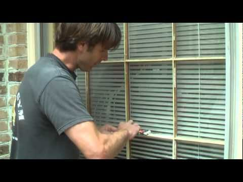 How to Replace Window Pane With Wood Molding.mpg - YouTube