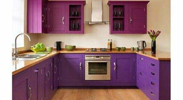 55 wundersch ne ideen f r k chen farben stil und for Dekoration wohnzimmer farben