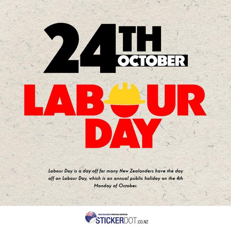 Happy Labour Day NZ!