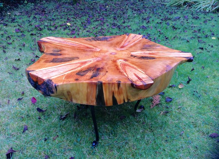 Hand made  Monkey Puzzle Coffee Table