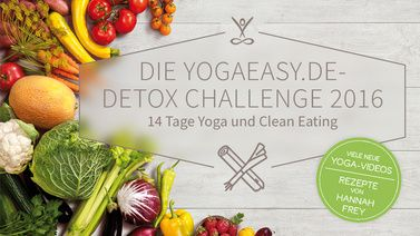 Program Die YogaEasy.de Detox Challenge 2016
