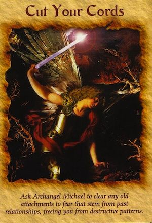 Toxic energy can be easily vanquished with the help of Archangel Michael, a powerful angel who will release you from the effects of fear... (keep reading: http://www.freeangelcardreadingsonline.com/2012/cut-your-cords/)