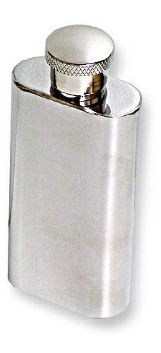 "2 ounce Mini Pocket Flask #11 by BeWild. $7.99. Now you can carry a 2oz. shot of your favorite alcholic beverage with youat all times with this mini flask. Made of stainless steel, this mini flask will keep any drink cold and hidden in any purse or pocket. Refill your mini flask before you leave the house to always have a ""warm up"" with you. Great for use in restaurants, parties, concerts or anywhere."