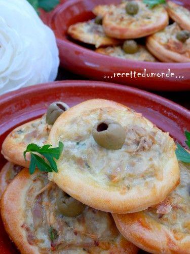 Des petites entrées salées pour accompagner une salade par exemple ou pour garnir la table du ftour du mois de Ramadan ! Pour la pâte briochée: - 200 ml lait tiède - 100ml huile - 1 c/c de levure de boulanger - 1 oeufs - 1 c/c sel . 1 pincée de sucre...